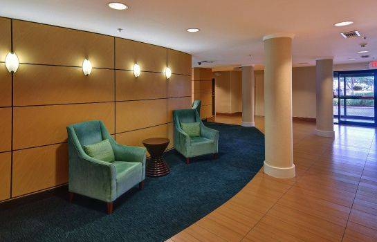 Lobby SpringHill Suites Dallas NW Highway at Stemmons/I-35E