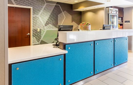 Hotelhalle SpringHill Suites Houston Brookhollow