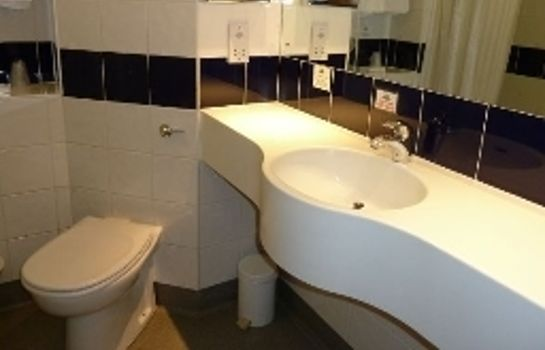 Bagno in camera Days Inn Leicester Forest East Welcome Break Service Area