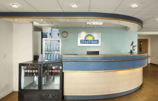 Hotelhalle Days Inn Leicester Forest East Welcome Break Service Area