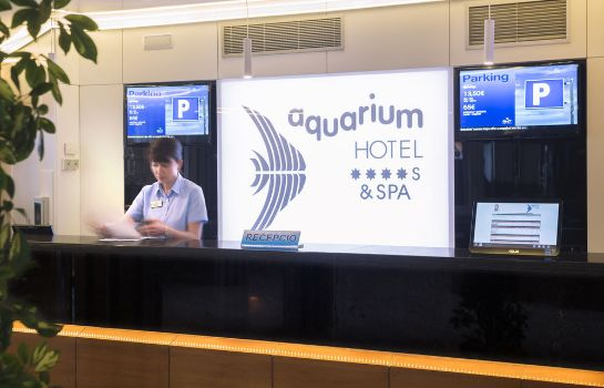 Reception Hotel GHT Aquarium & Spa