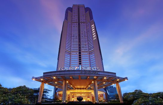Exterior view Four Points by Sheraton Shenzhen