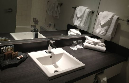 Bagno in camera Mount Royal Hotel