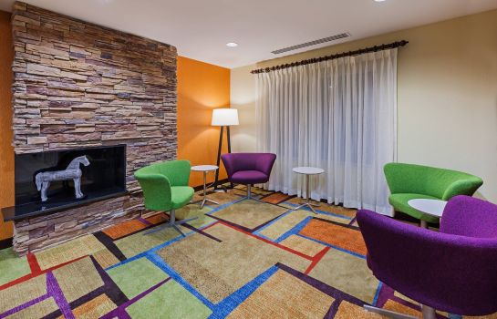 Vestíbulo del hotel Fairfield Inn & Suites Austin Northwest/The Domain Area