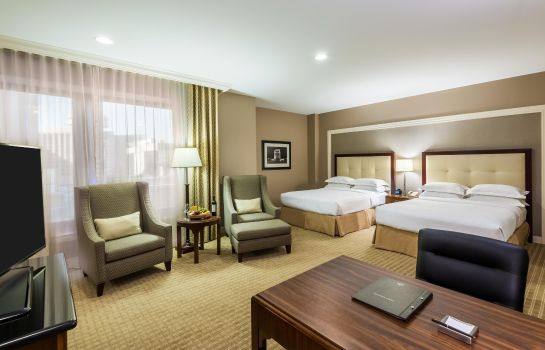 Zimmer Hilton Indianapolis Hotel - Suites
