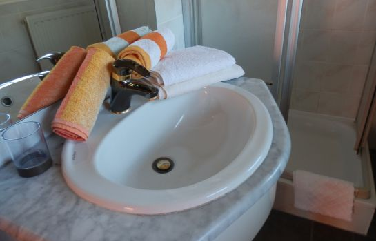 Bagno in camera Alpenrose Pension