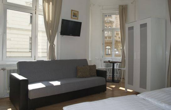 Doppelzimmer Komfort Time Out City Hotel Vienna