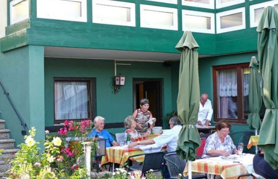 Terrasse Seepension Smoley Pension