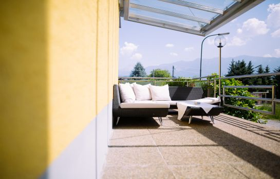 Terrasse Pension Zollner Zimmer - Appartements