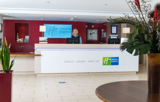 Vestíbulo del hotel Holiday Inn Express NORTHAMPTON - SOUTH