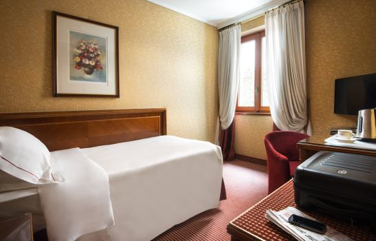 Single room (standard) Lugano Dante Swiss Quality Hotel