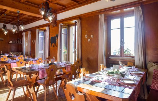 Breakfast room Hotel The Originals Chalet Stella Alpina (ex Relais du Silence)