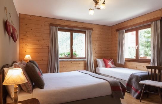 Double room (standard) Hotel The Originals Chalet Stella Alpina (ex Relais du Silence)
