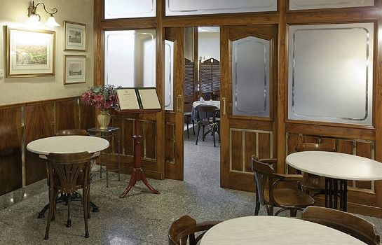 Interior view Hostal Carlos III