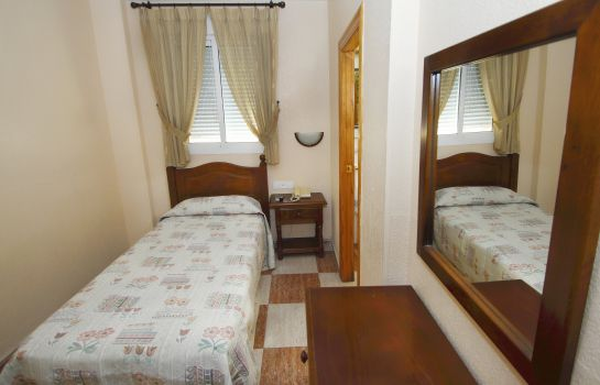 Single room (standard) Hotel Sevilla