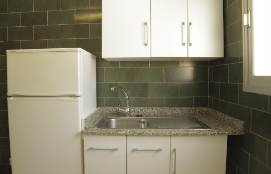 Kitchen in room Apartaments AR Borodin