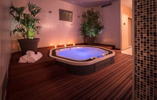 Whirlpool BEST WESTERN Plus Hotel Le Rive Droite & SPA