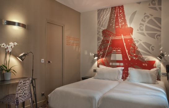 Chambre double (standard) Alpha Paris Tour Eiffel