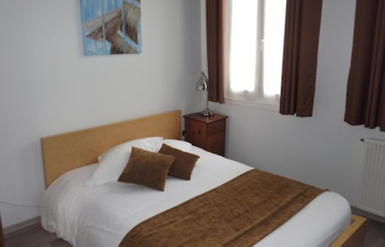 Doppelzimmer Standard Rochefort  Hôtel Roca-Fortis The Originals Boutique (ex Inter-Hotel)