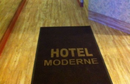 Reception Hotel Moderne