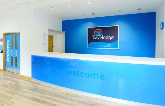 Hotelhalle TRAVELODGE LONDON LIVERPOOL STREET