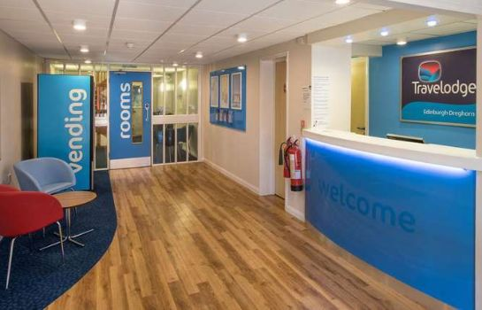 Lobby TRAVELODGE EDINBURGH DREGHORN