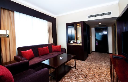Junior Suite Crowne Plaza PUDONG SHANGHAI