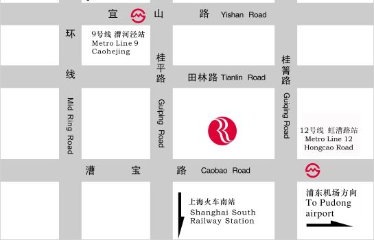 How to find us Ramada Plaza Shanghai Caohejing (Annex Building)