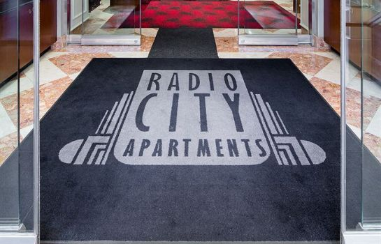 Vista all'interno Radio City Apartments