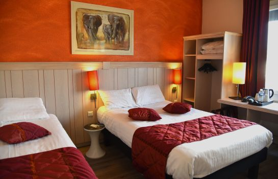 Chambre triple INTER-HOTEL Bourges Le Berry