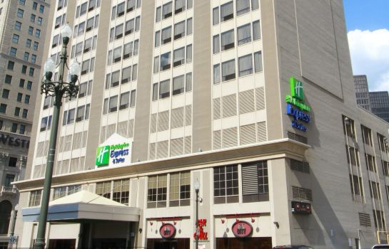 Außenansicht Holiday Inn Express & Suites DETROIT DOWNTOWN