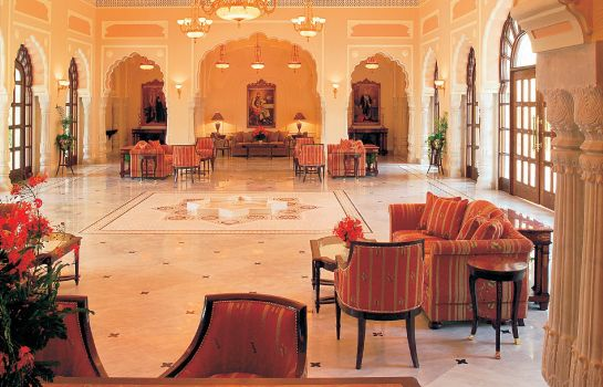 Lobby Rambagh Palace