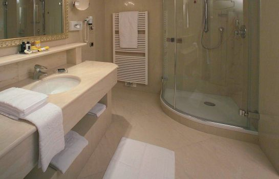 Bagno in camera Goldener Adler Cityhotel B&B