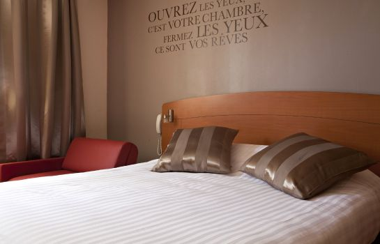 Chambre double (standard) Kyriad Montpellier Est Lunel