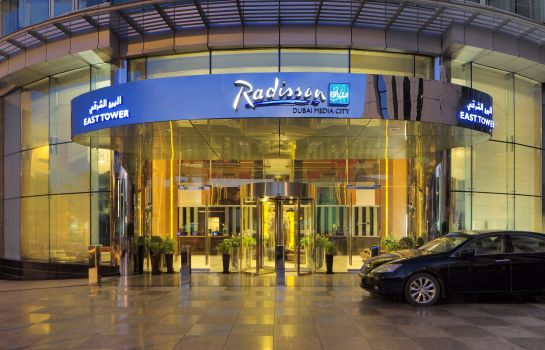 Exterior view RADISSON BLU DUBAI MEDIA CITY