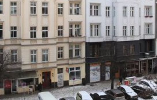 Außenansicht City Guesthouse Pension Berlin