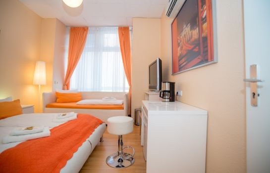 Dreibettzimmer City Guesthouse Pension Berlin