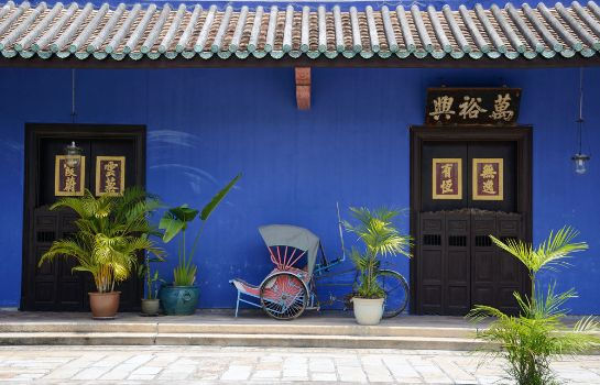 Buitenaanzicht Cheong Fatt Tze - The Blue Mansion