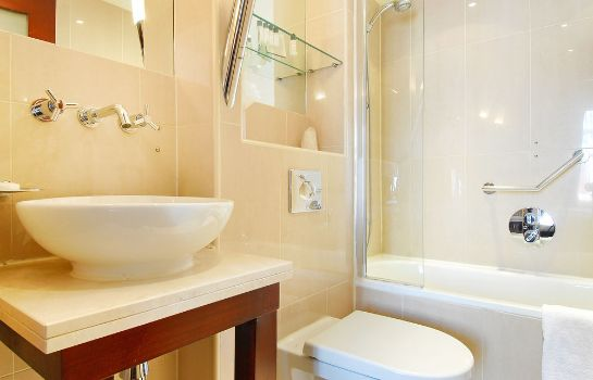 Bagno in camera London Premier Kensington