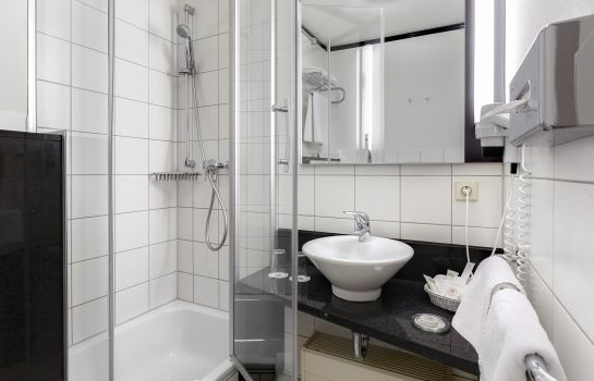 Bagno in camera Best Western City-West