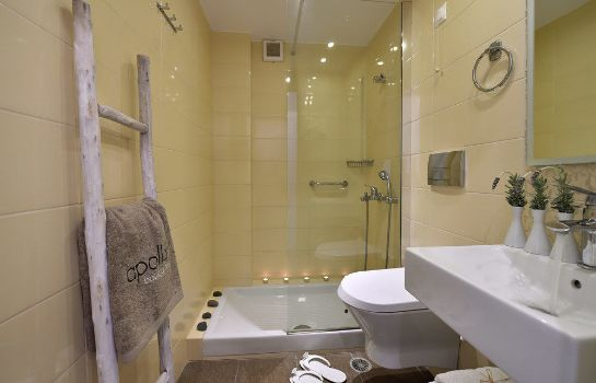 Bagno in camera Apollon Boutique Hotel