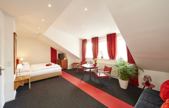 Chambre double (confort) Design-Boutique Hotel Vosteen im Stile der 50er Jahre