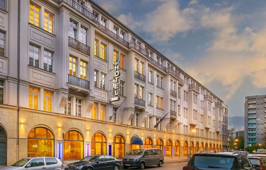Exterior view Select Hotel Berlin Checkpoint Charlie