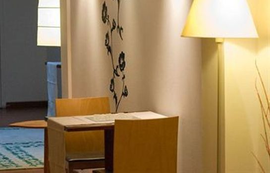 Vista all'interno Hotel Teruel Plaza