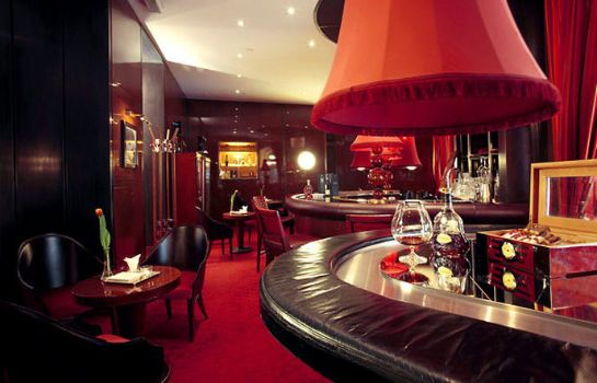 Hotel bar Boscolo Budapest Autograph Collection