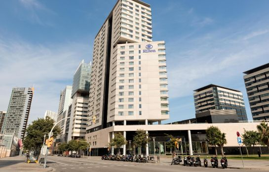 Exterior view Hilton Diagonal Mar Barcelona