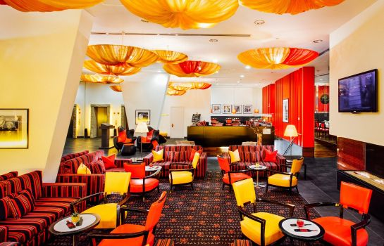 Hol hotelowy angelo by Vienna House Prague