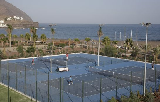 Tennis court Playitas Hotel