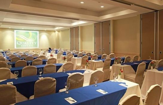 Conference room Quality Hotel Real San Jose