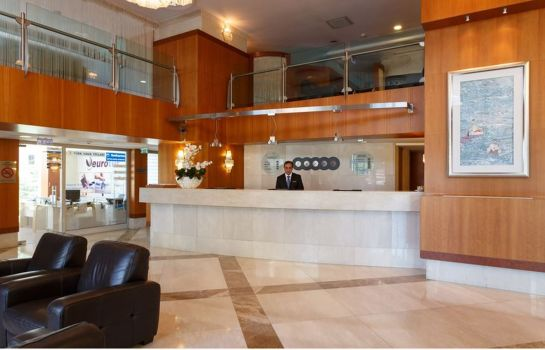 Empfang ByOtell Hotel Istanbul